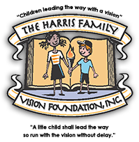 The Harris Family Vision Foundation, Inc., Logo